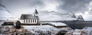 Vidareidi church van
