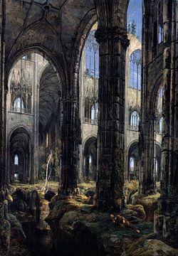 Carl Blechen. Die gotischen Ruinen