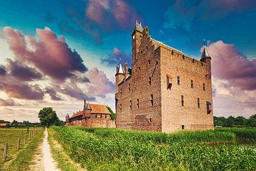 Kasteel Doornenburg Nederland van Hilda Weges