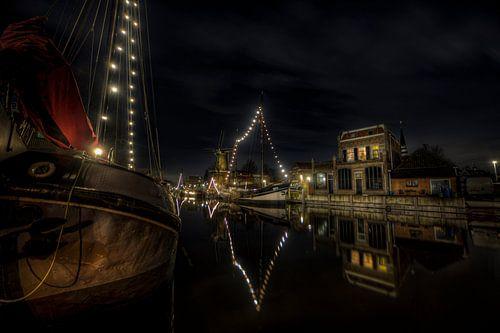 De oude Goudse haven