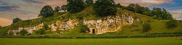 Mergelwand bij Bemelen in het Heuvelland van Limburg von byFeelingz