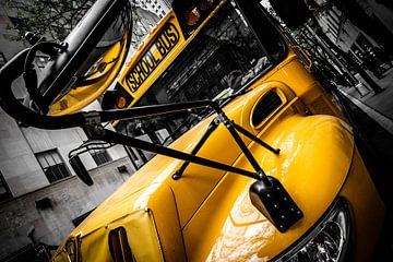 School Bus, New York City sur Eddy Westdijk