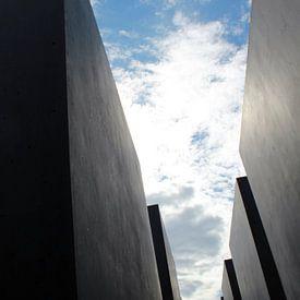 Holocaustmonument in Berlijn van Ilse Schoneveld