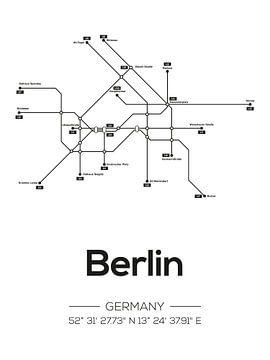 Berliner U-Bahn-Linien von MDRN HOME