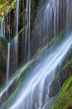 Water in een ravijn