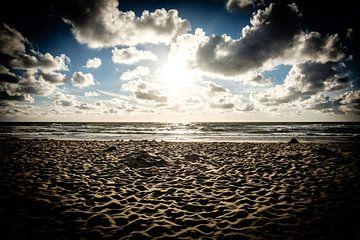 Romantischer Sonnenuntergang am Strand | Callantsoog, Niederlande | Naturfotografie von Diana van Neck Photography