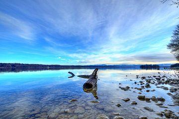 Der Fels in der Brandung - Starnberger See von Roith Fotografie