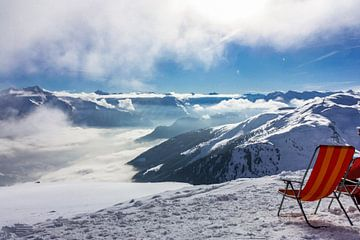 Über den Wolken in Österreich von Easycopters