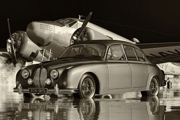 Jaguar MK 2 Familienauto in den Sechzigern