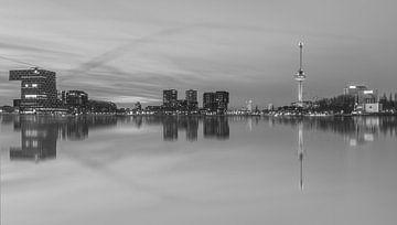 Rotterdam skyline with euromast sur