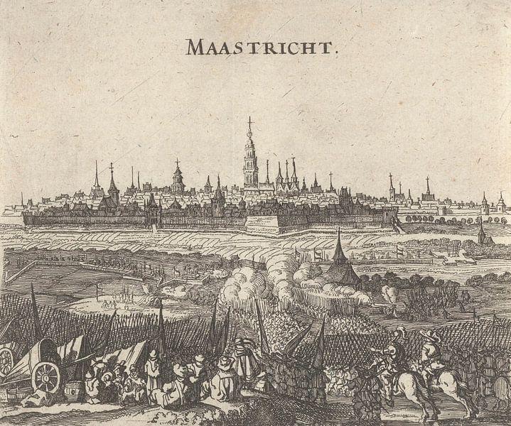 Belagerung von Maastricht, 1632, anonym, 1650 - 1652 von Meesterlijcke Meesters