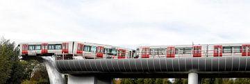 Metro crash Spijkenisse van Tilly Meijer