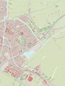 Kaart vanLeiderdorp