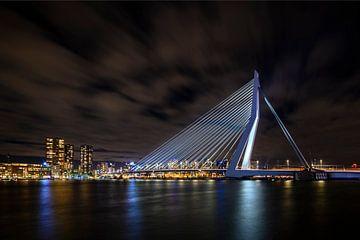 Erasmus Brücke Rotterdam von Alvin Aarnoutse