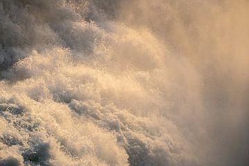 Waterfall abstract van Thomas Kuipers