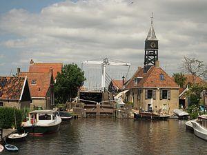 Schutsluis Hindeloopen ,Friesland van eric piel