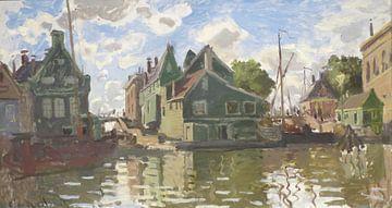 Kanaal bij Zaandam, Claude Monet van Meesterlijcke Meesters