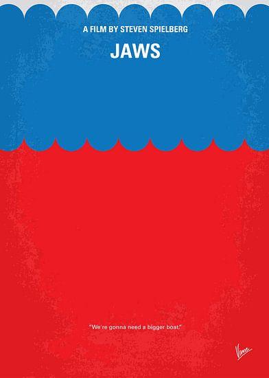 No046 My Jaws minimal movie poster