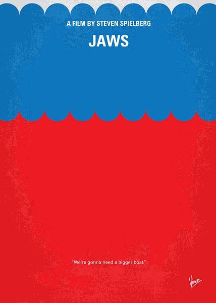No046 My Jaws minimal movie poster van Chungkong Art