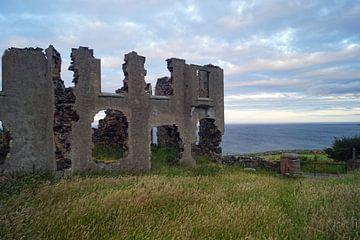 Ruine an der Scenic Torr Route von Babetts Bildergalerie