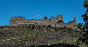 Château de Tourbillon, Zwitserland van Ingrid Aanen