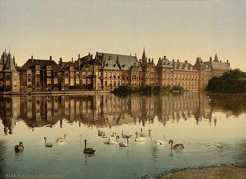 Hofvijver, Den Haag von Vintage Afbeeldingen