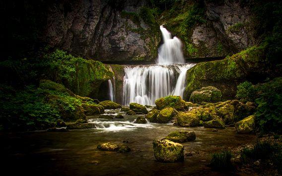 cascade de la billaude van Joost Lagerweij