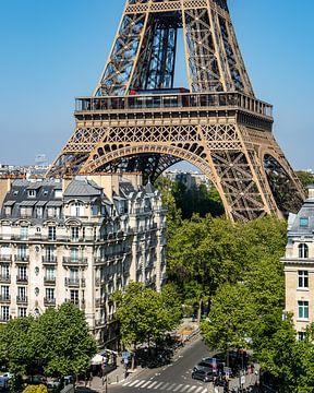 Eiffelturm Nahaufnahme von Michaelangelo Pix