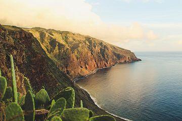 Zonsondergang bij Ponta do Pargo op Madeira van Daan Duvillier