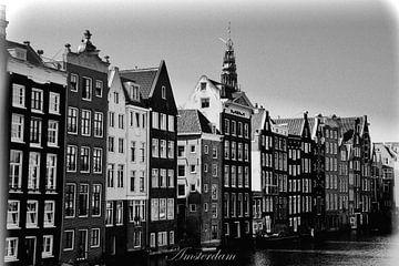 Schwarz und Weiß Amsterdam von Hendrik-Jan Kornelis