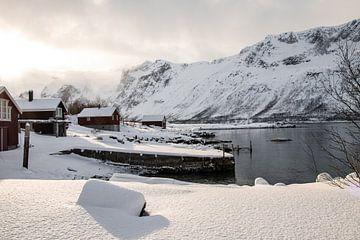 Landschaft auf Norwegisch - Lappland von Henrike Schenk