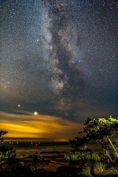 Night sky van Marjolein van Roosmalen