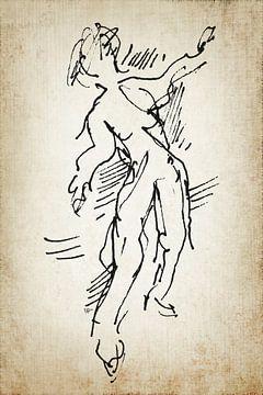 Danser toen en nu 1 van ART Eva Maria
