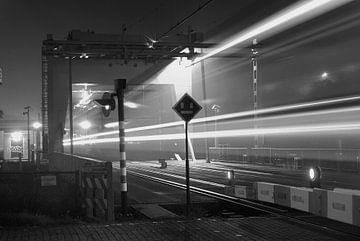 Nachttrein  van Michel Postma