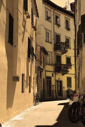 Toscane Italië Lucca Binnenstad Oud