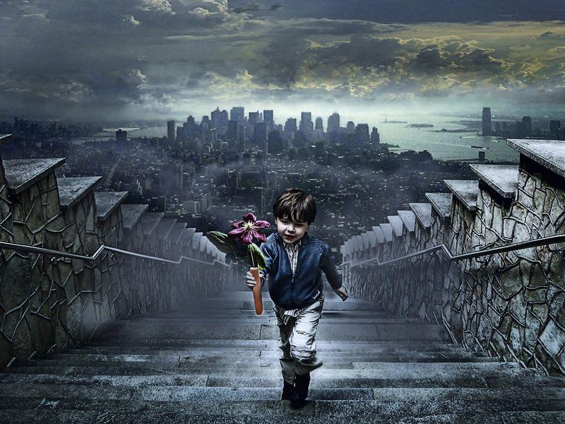 de jongen uit New York van Joachim G. Pinkawa