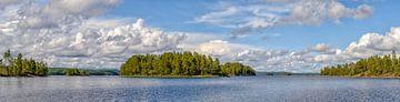 Zweden Stora Le Panorama van Sjoerd van der Wal