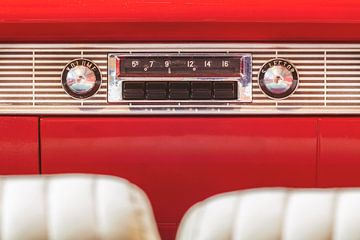 L'autoradio d'époque sur Martin Bergsma