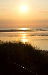 Sonnenuntergang am Meer van