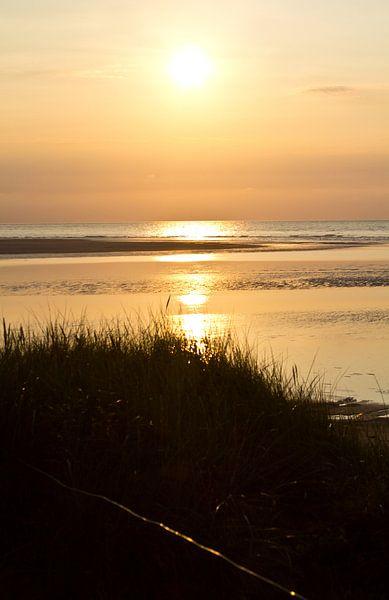 Sonnenuntergang am Meer von Andrea Fettweis