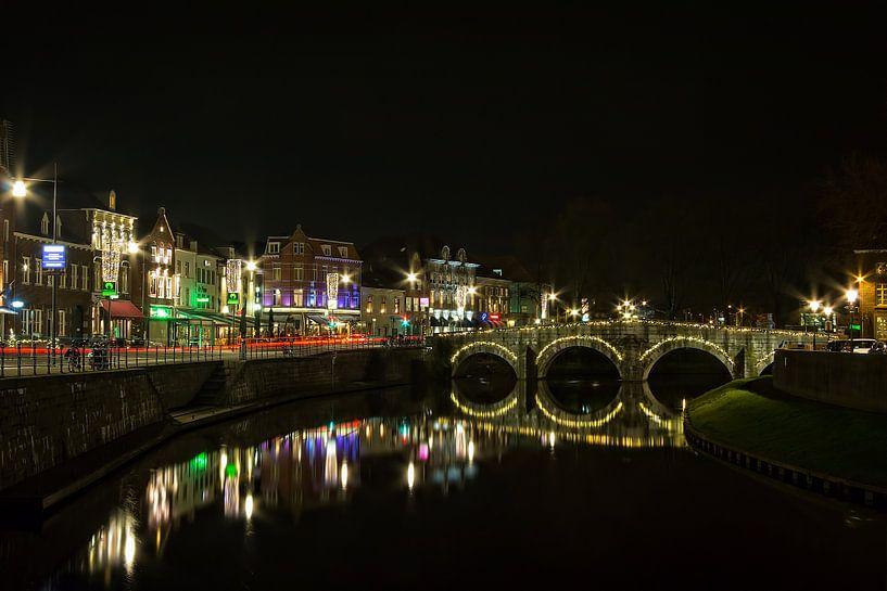 Roermond@night van Marc Crutzen