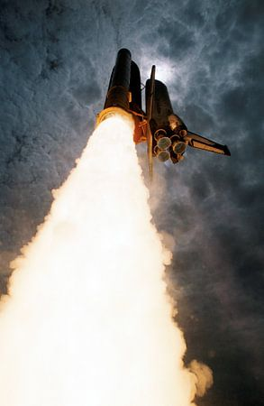 Space Shuttle Columbia Lancering