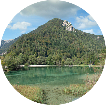 Het Jasna-meer in het Triglav Nationaal Park van Peter Eckert