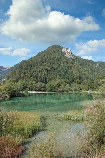 Het Jasna-meer in het Triglav Nationaal Park