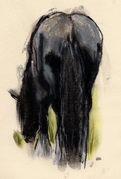 Paard sur Pieter Hogenbirk