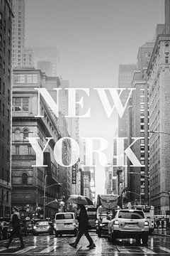 Städte im Regen: New York von Christian Müringer