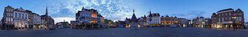 Panorama Den Bosch met put van Leo van Valkenburg