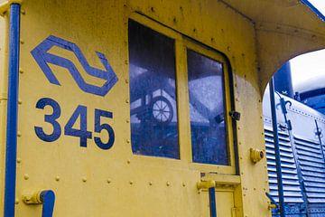 Spoorwegmuseum - Locomotief 345 van Wout van den Berg