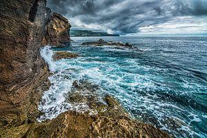 Rotskust Azoren van