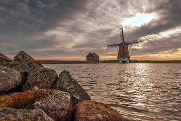 Mühle Nord auf Texel von Ronald Timmer